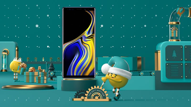 Christmas gift ideas: Samsung Galaxy Note9 smartphone