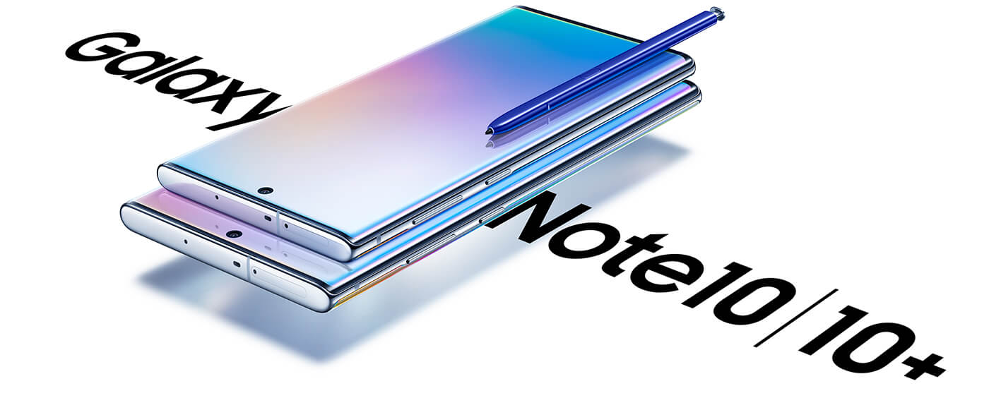 Samsung Galaxy Note10 and Samsung Galaxy Note10plus