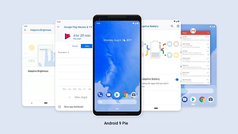 Android Pie features on the Google Pixel 3 smartphone.