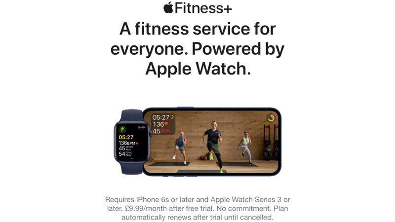 3 free months' Apple Fitness Plus