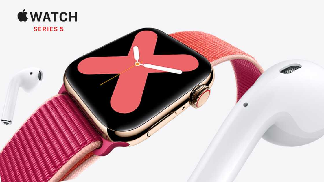 Apple Watch Series 5 on EE