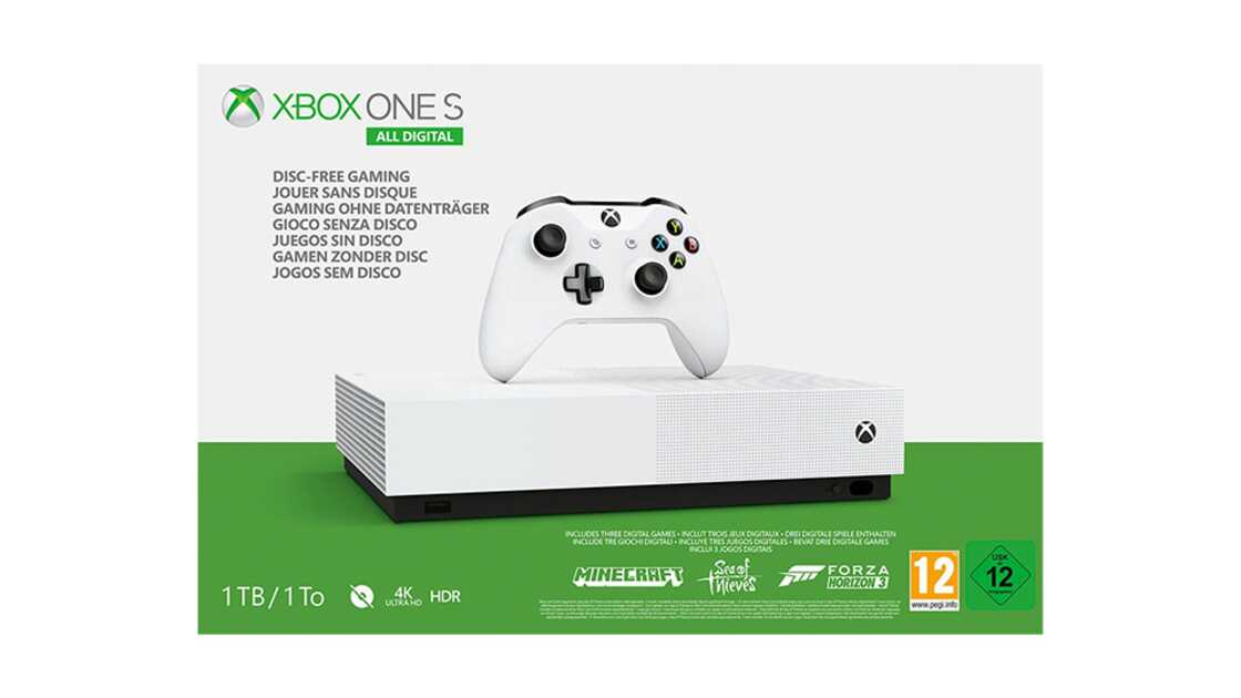 Xbox One S All Digital Edition Add To Plan
