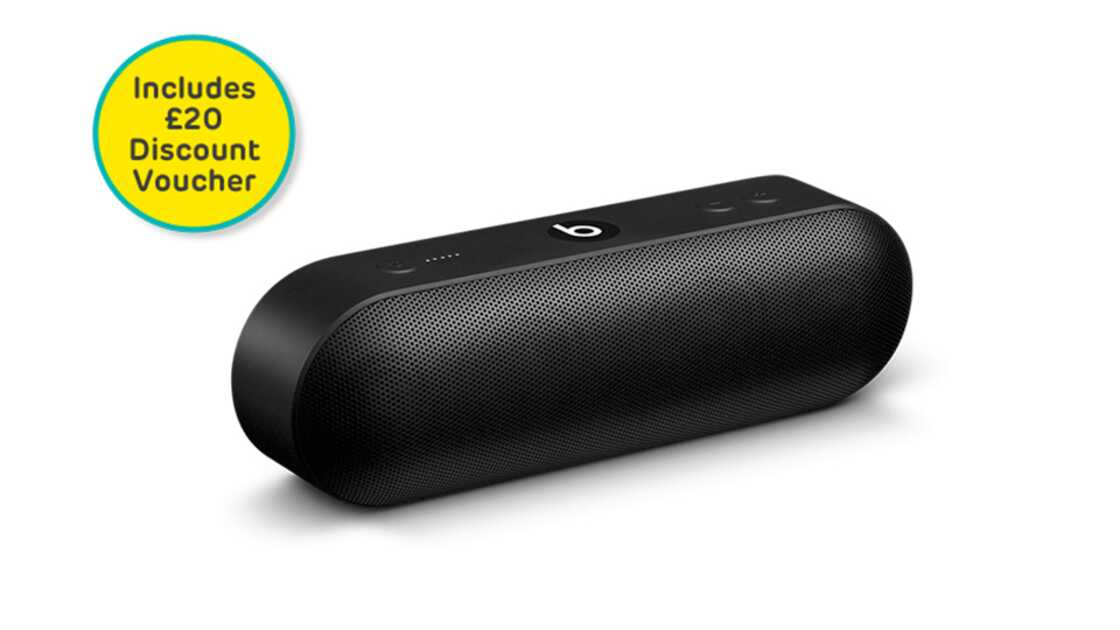 Beats Pill+ speaker in black