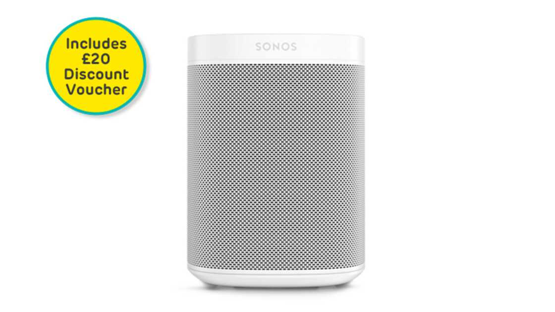 Sonos One (2nd Gen) White