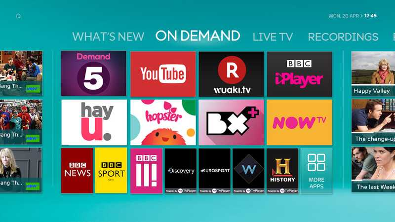 Catch up and on demand