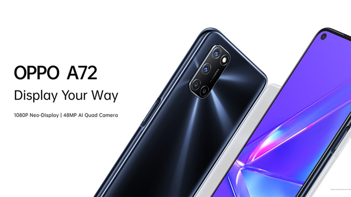 The OPPO A72