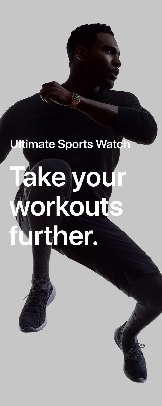 Apple Watch Series 3 Ultimate Sports Watch