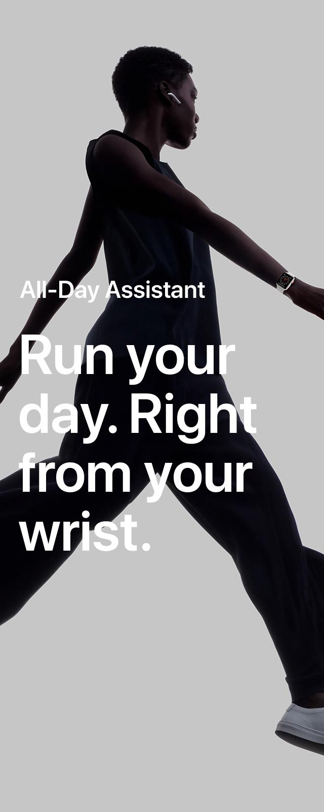 Apple Watch Series 3 All-day Assistant