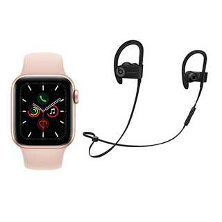 Apple Watch Series 5 (GPS + 4G) 40mm - Includes Powerbeats3