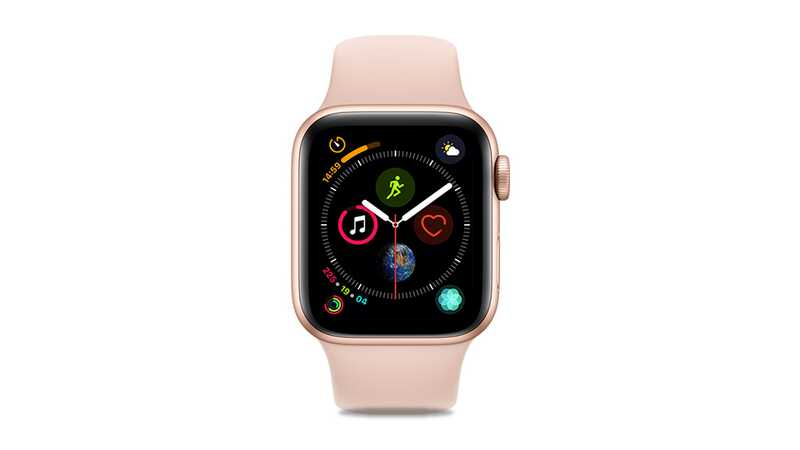 Apple Watch Series 4 (GPS + 4G) 40mm Gold Aluminium Case with Pink Sport Band