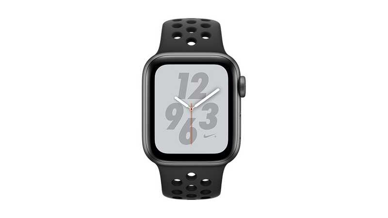 Apple Watch Series 4 Nike+ (GPS + 4G) 40mm Space Grey Aluminium Case with Black Sport Band
