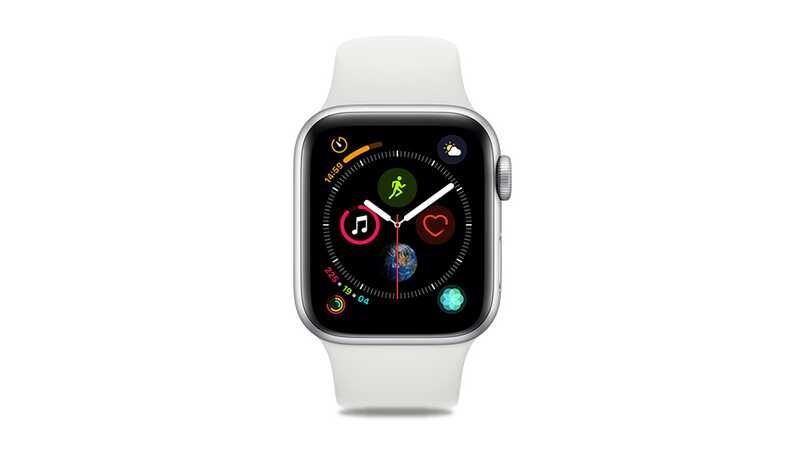 Apple Watch Series 4 (GPS + 4G) 40mm Silver Aluminium Case with White Sport Band