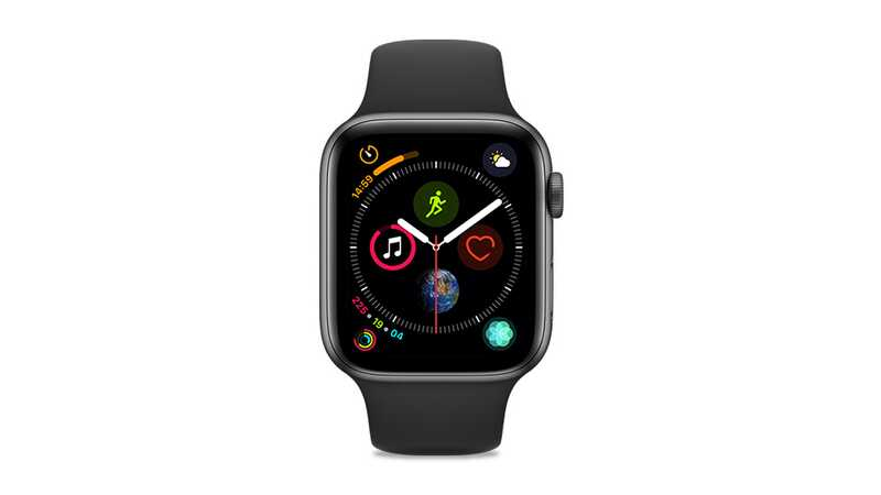 Apple Watch Series 4 (GPS + 4G) 44mm Space Grey Aluminium Case with Black Sport Band