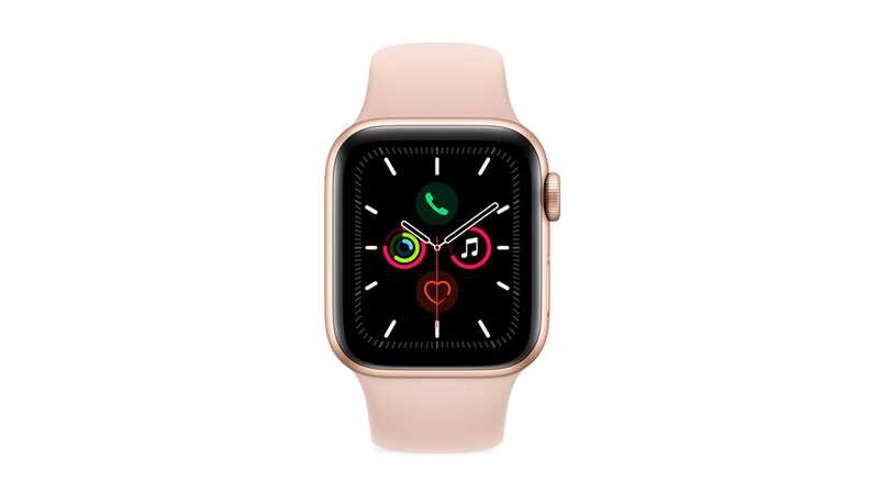 Apple Watch Series 5 (GPS + 4G) 40mm Space Grey Aluminium Case with Pink Band