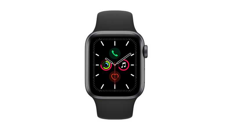 Apple Watch Series 5 (GPS + 4G) 40mm Space Grey Aluminium Case with Black Band