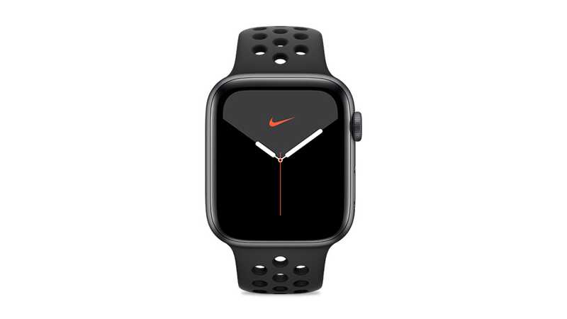 Apple Watch Series 5 Nike+ (GPS + 4G) 44mm Space Grey Aluminium Case with Black Sport Band