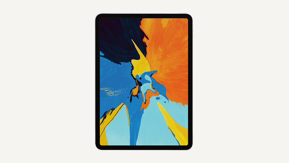 iPad Pro 11-inch tablet front view