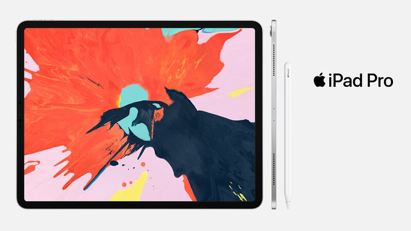 The new iPad Pro with Apple Pencil