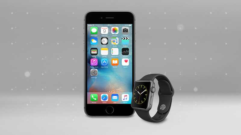 iPhone 6s and Apple Watch