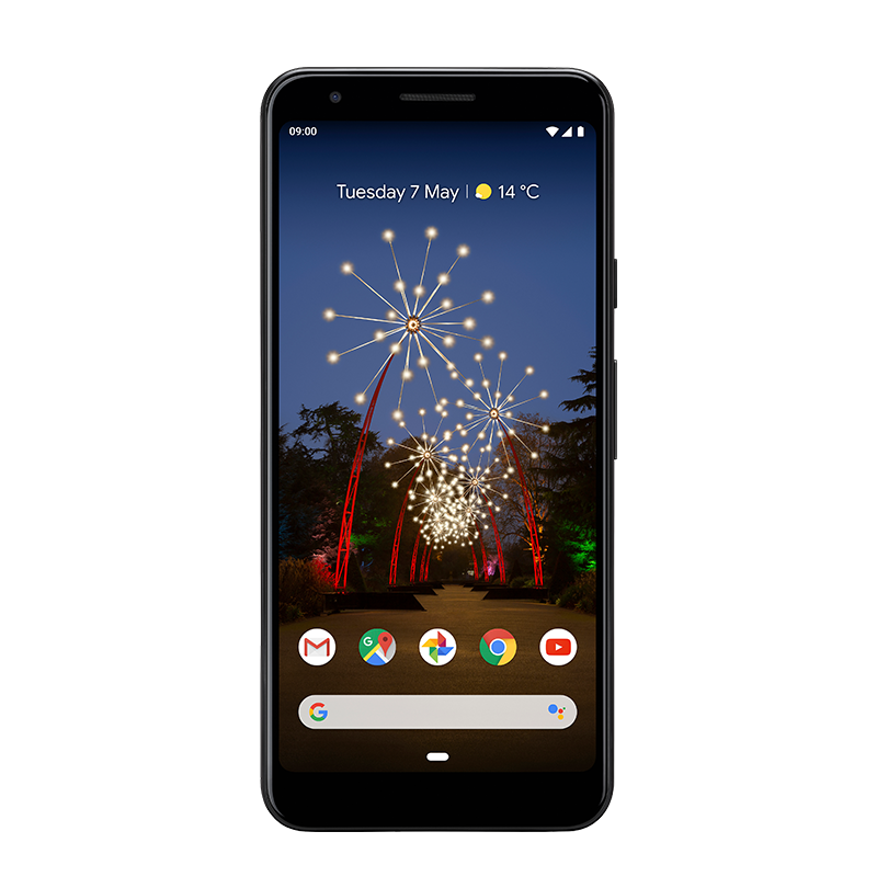 Google Pixel 3a Just Black with Free Xbox, Sonos One or B&O