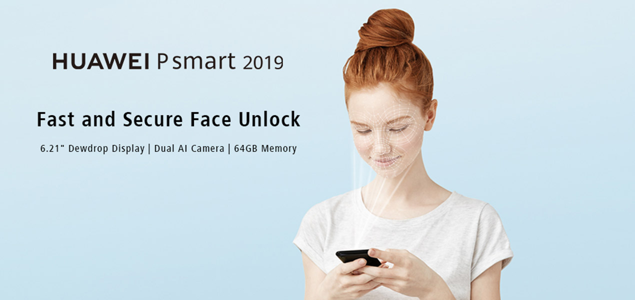 Huawei P Smart 2019 security