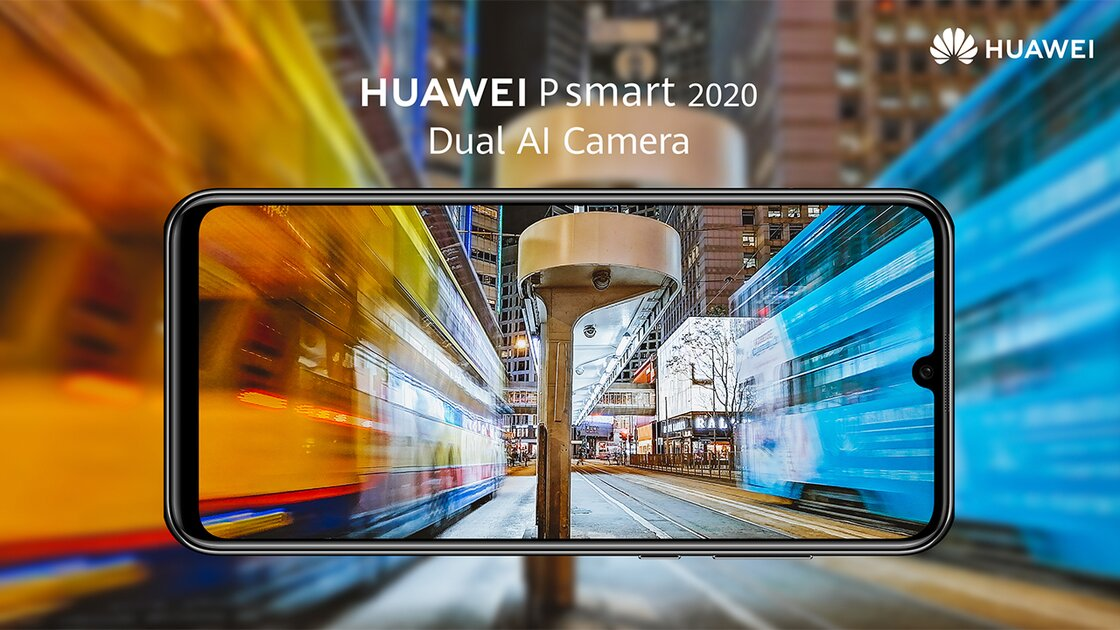 Huawei P Smart 2020 capture the best moments
