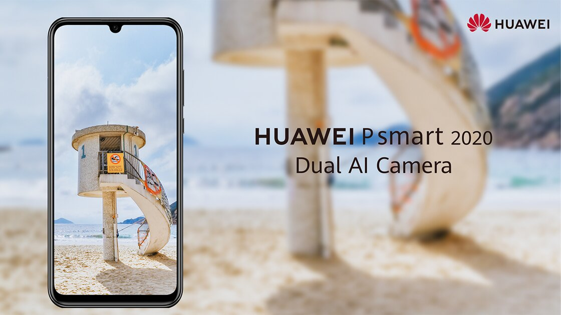 Huawei P Smart 2020 a fine display