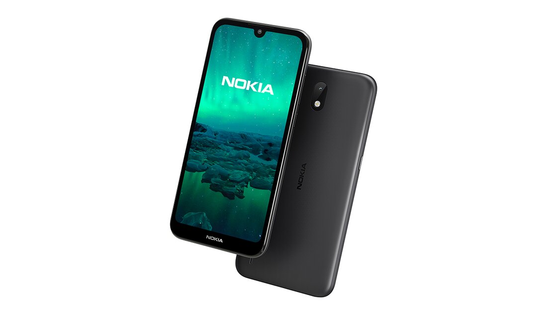 Nokia 1.3 front and back