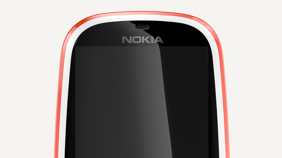 Nokia 3310 Red screen