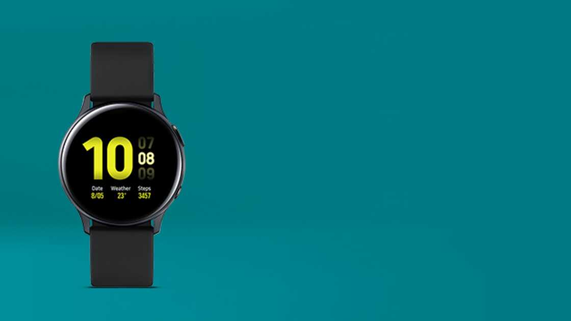 Samsung Galaxy Watch Active2 Black