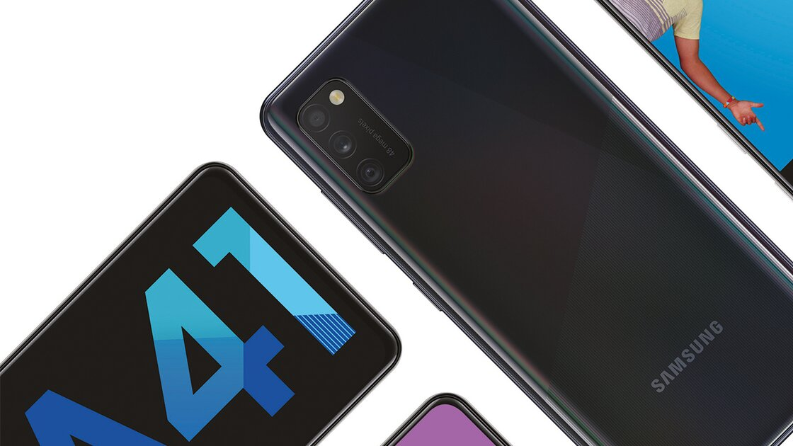 Samsung Galaxy A41 keeping your info secure
