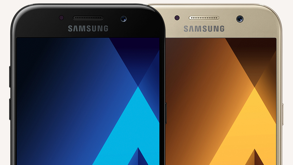 Samsung Galaxy A5 2017 Black Sky and Golden Sand