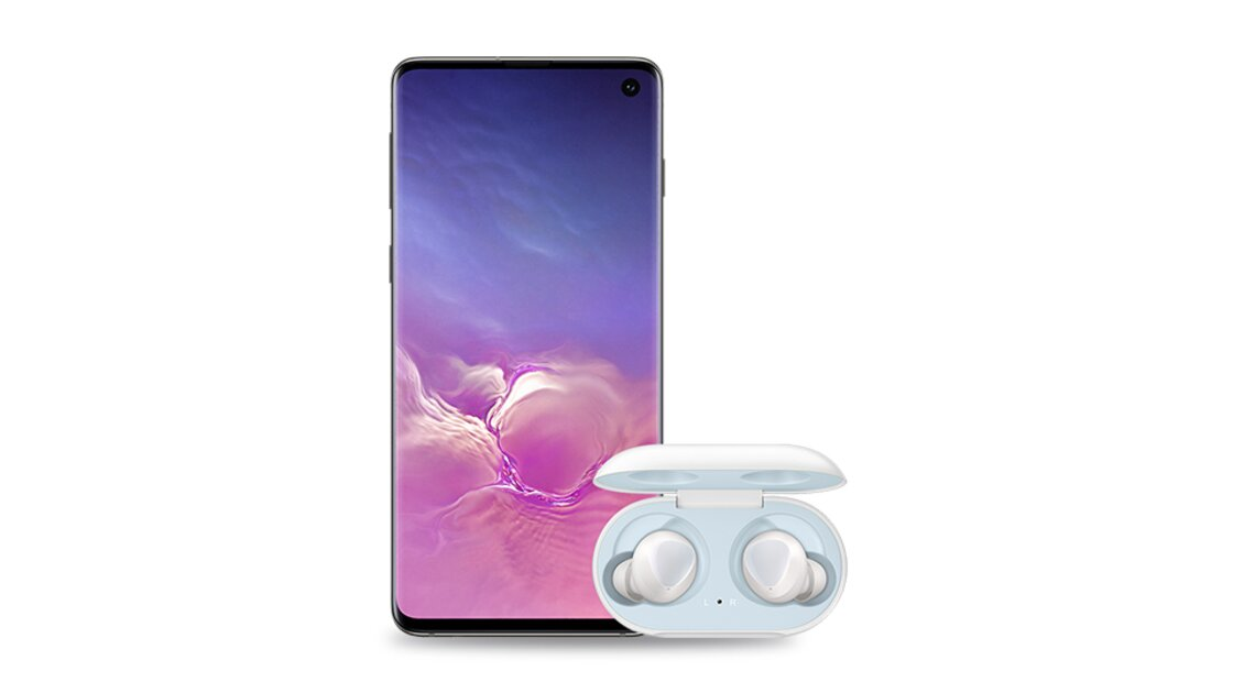 Free Samsung Ear Buds with the Samsung Galaxy S10