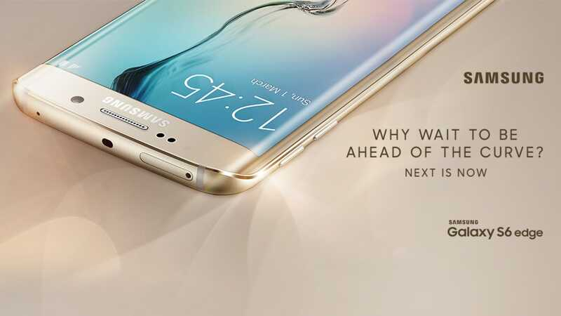 Samsung Galaxy S6 edge with 10GB data