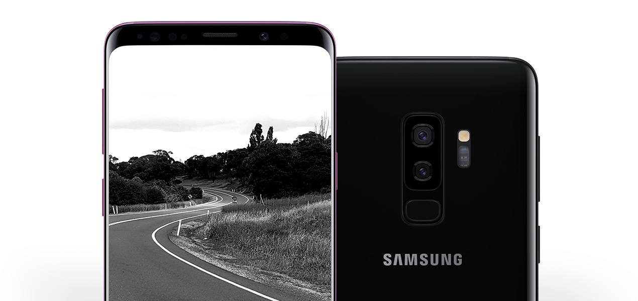 Samsung Galaxy S9 infinity display