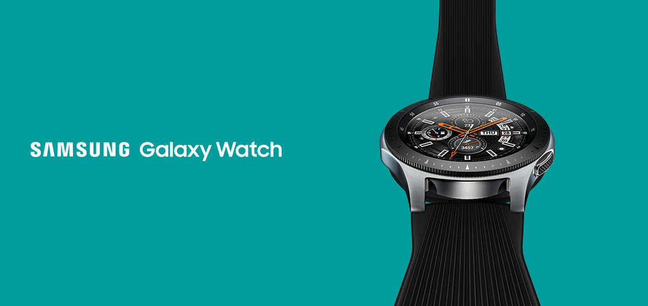 Buy the Samsung Galaxy Watch 46mm Silver | EE