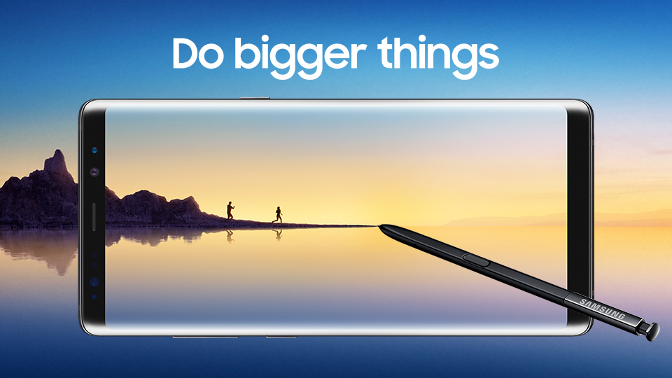 Note8 - Do bigger things image