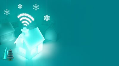EE Broadband Christmas