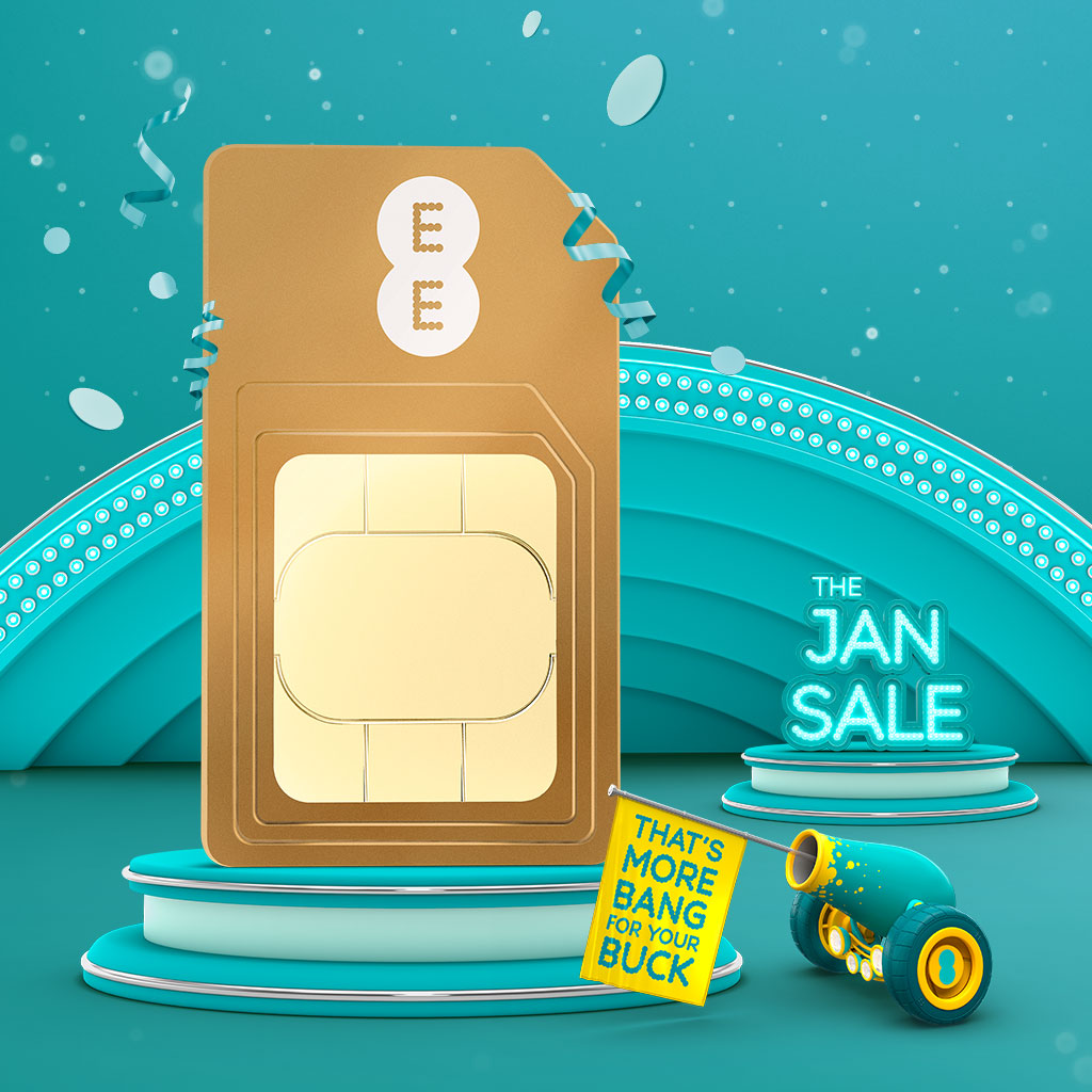 EE SIM January Sale