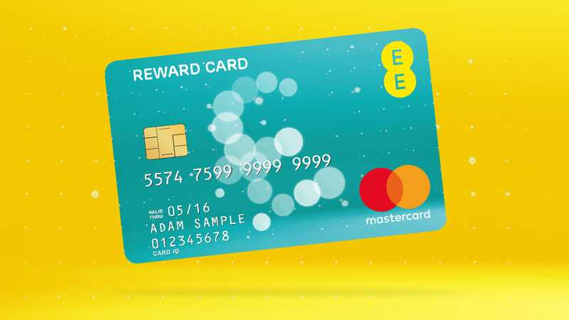 ee reward card - Prepaid Rewards Card