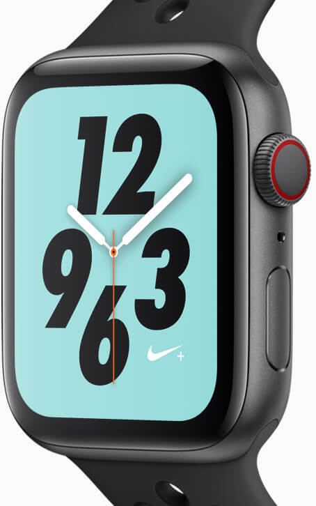 Apple Watch Series 4 and Nike