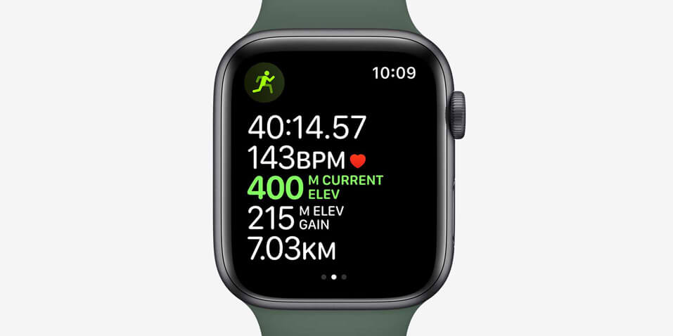 Apple watch series 5 with advanced metrics