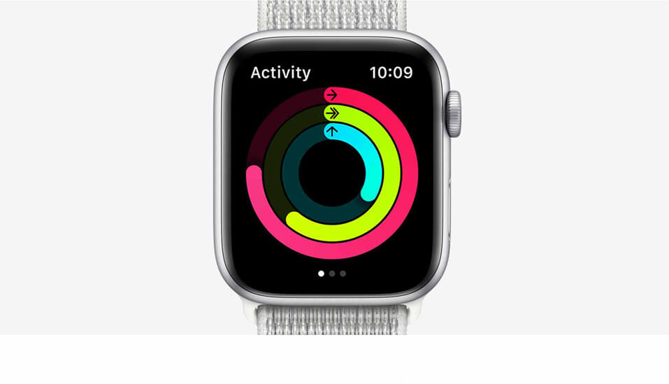 Apple watch series 5 with activity track