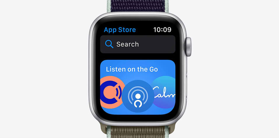 Apple watch series 5 app store