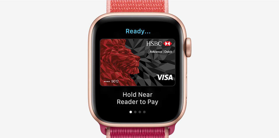 Apple watch series 5 apple pay