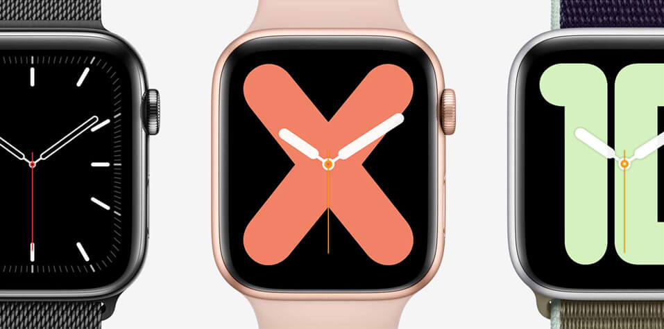 Apple watch series 5 personalisation