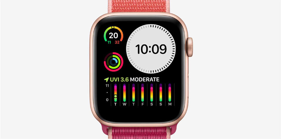 Apple watch series 5 retina display