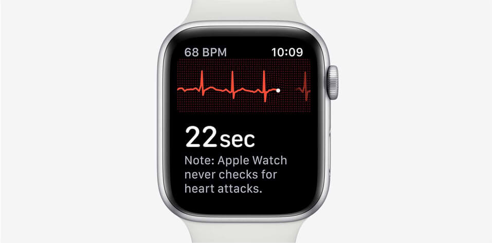 Apple watch series 5 ECG app