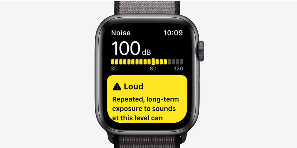 Apple watch series 5 noice app