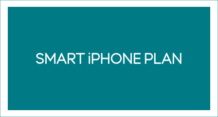 'Smart iPhone Plan' copy in image
